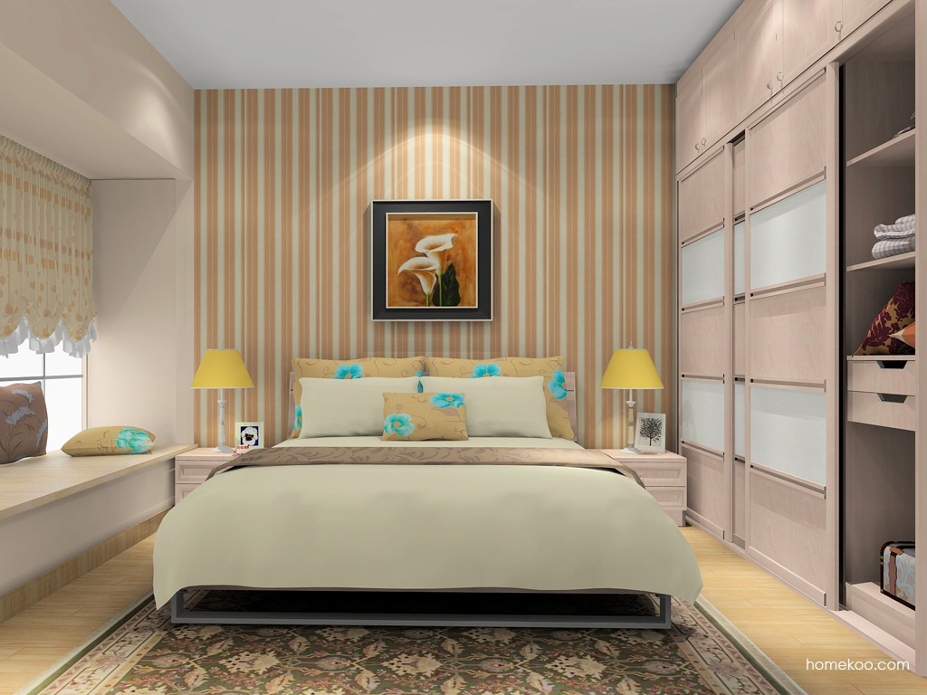 北欧阳光卧房家具A15988