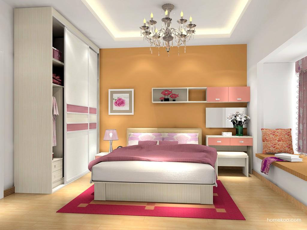 浪漫主义卧房家具A15996