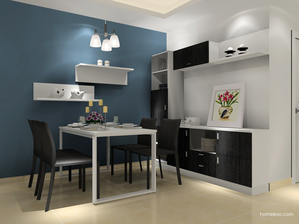 简约主义餐厅家具E14877