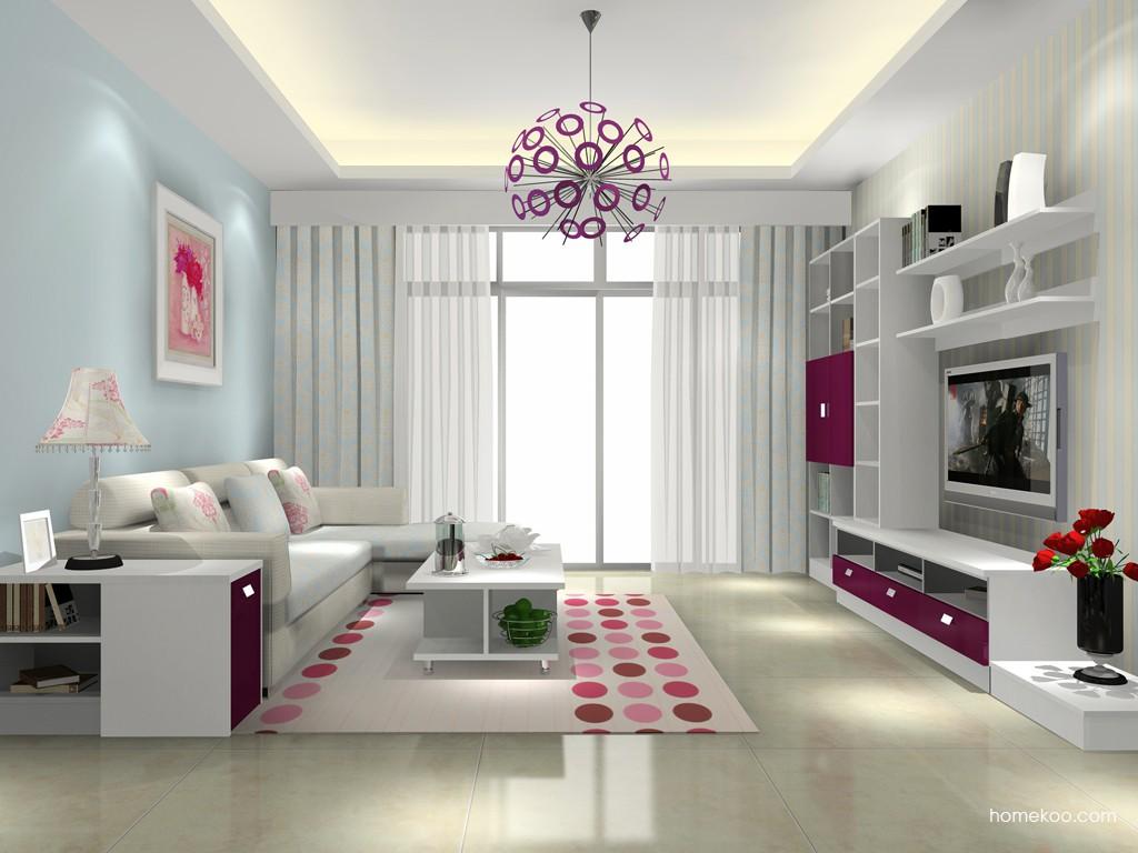 浪漫主义客厅家具D15678