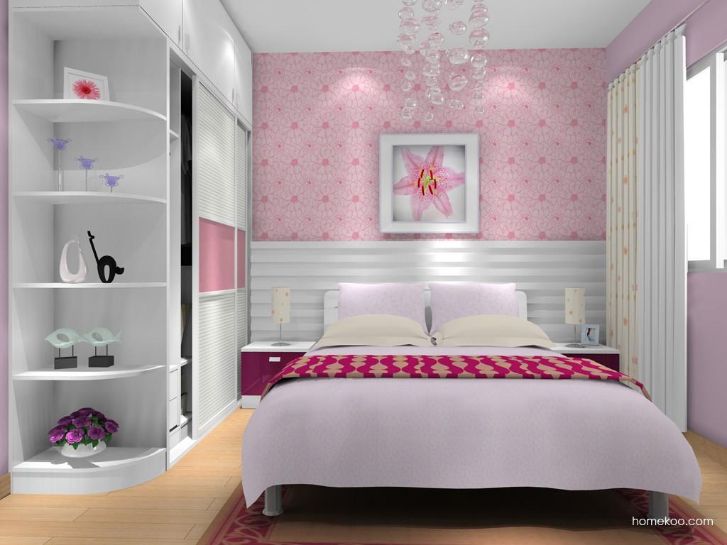 浪漫主义卧房家具A16005