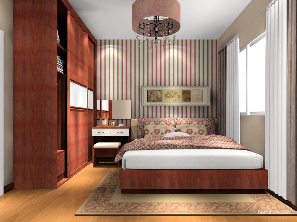 挪威月色卧房家具A16006