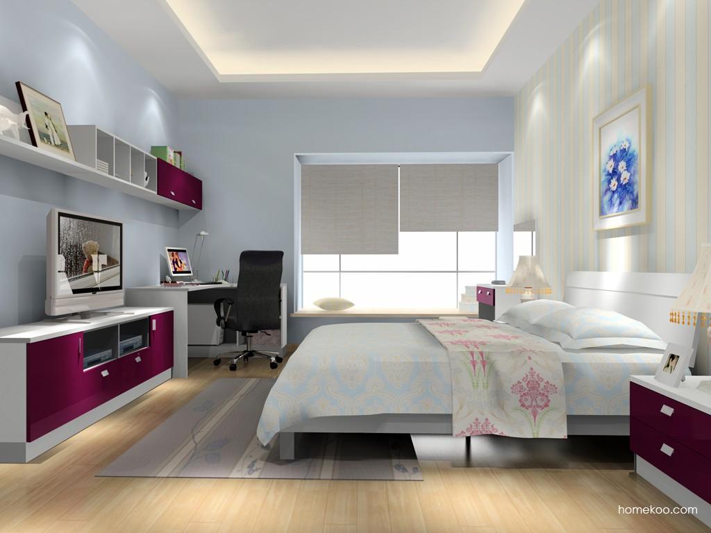 浪漫主义卧房家具A15998