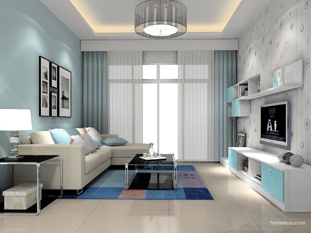 新实用主义客厅家具D15684