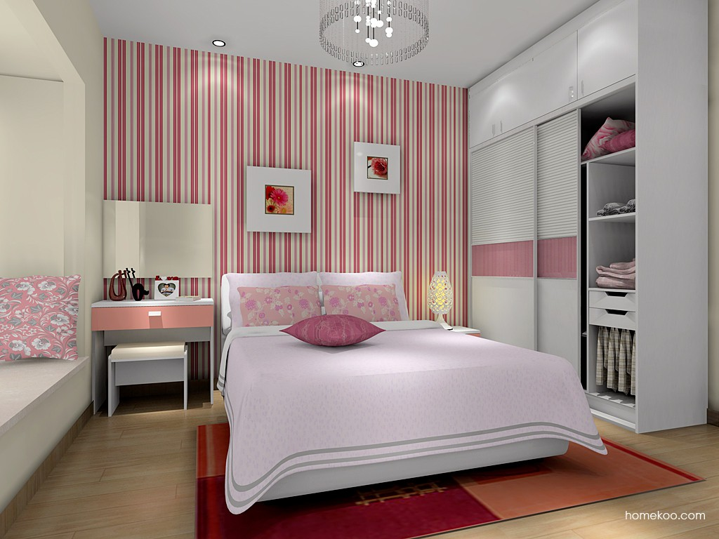 浪漫主义卧房家具A16012