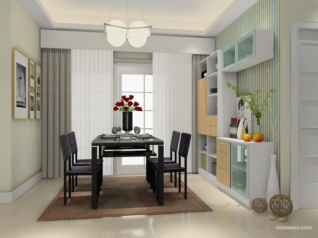 新实用主义餐厅家具E14887