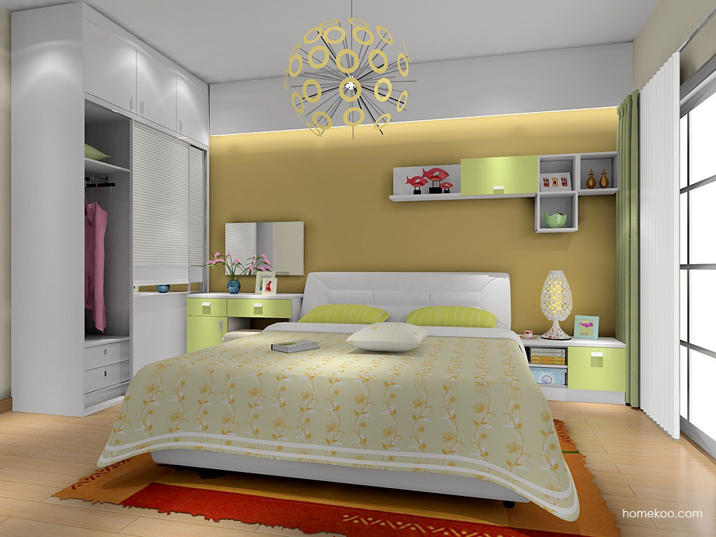 浪漫主义卧房家具A16019