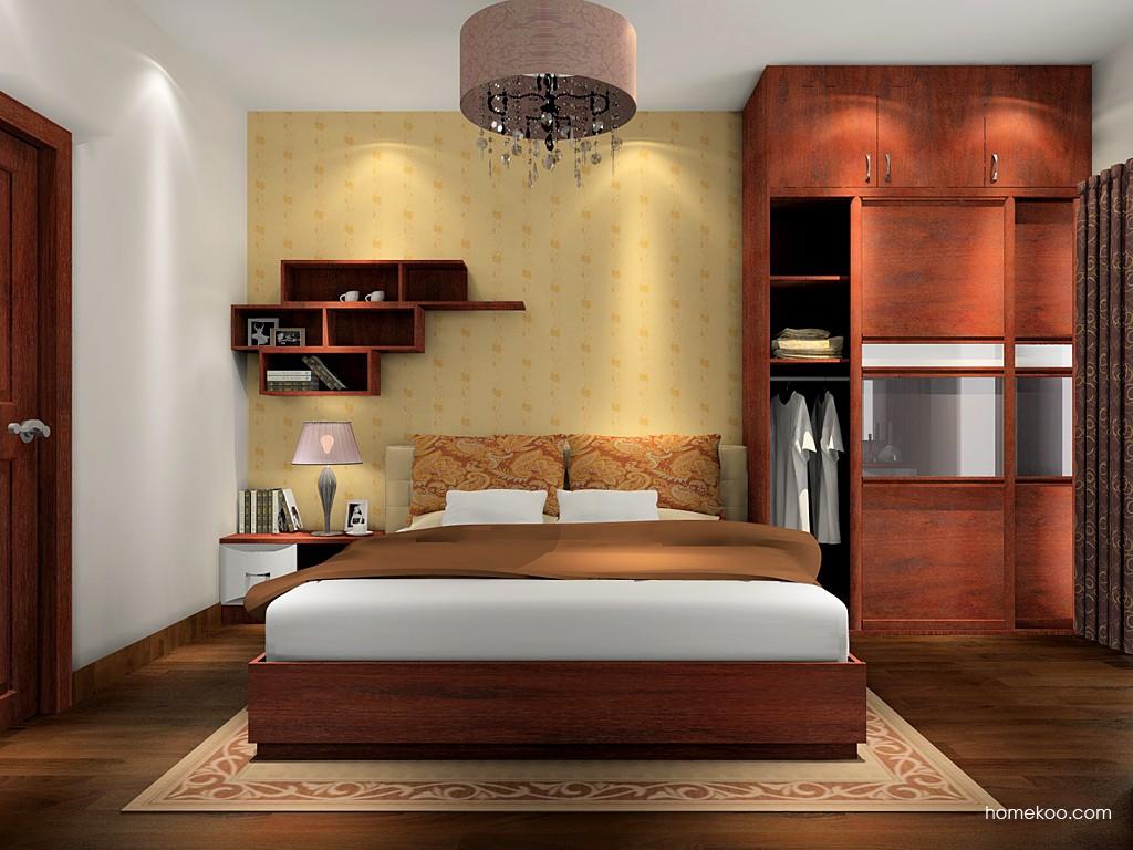 挪威月色卧房家具A16020