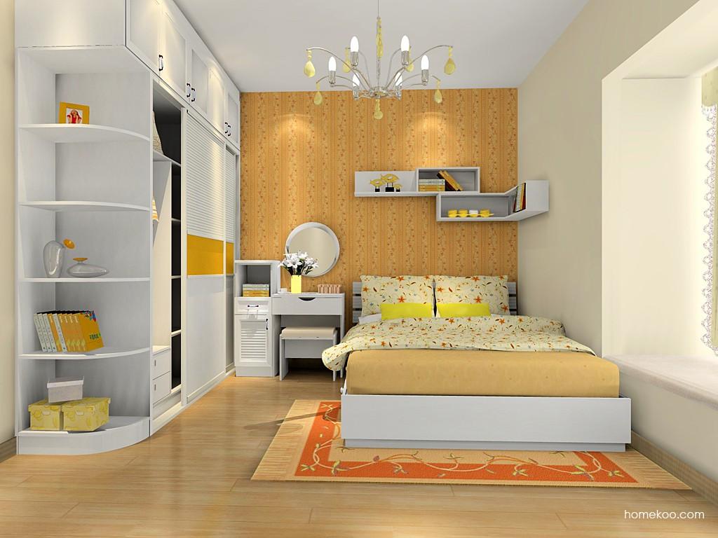 韩式田园卧房家具A16037
