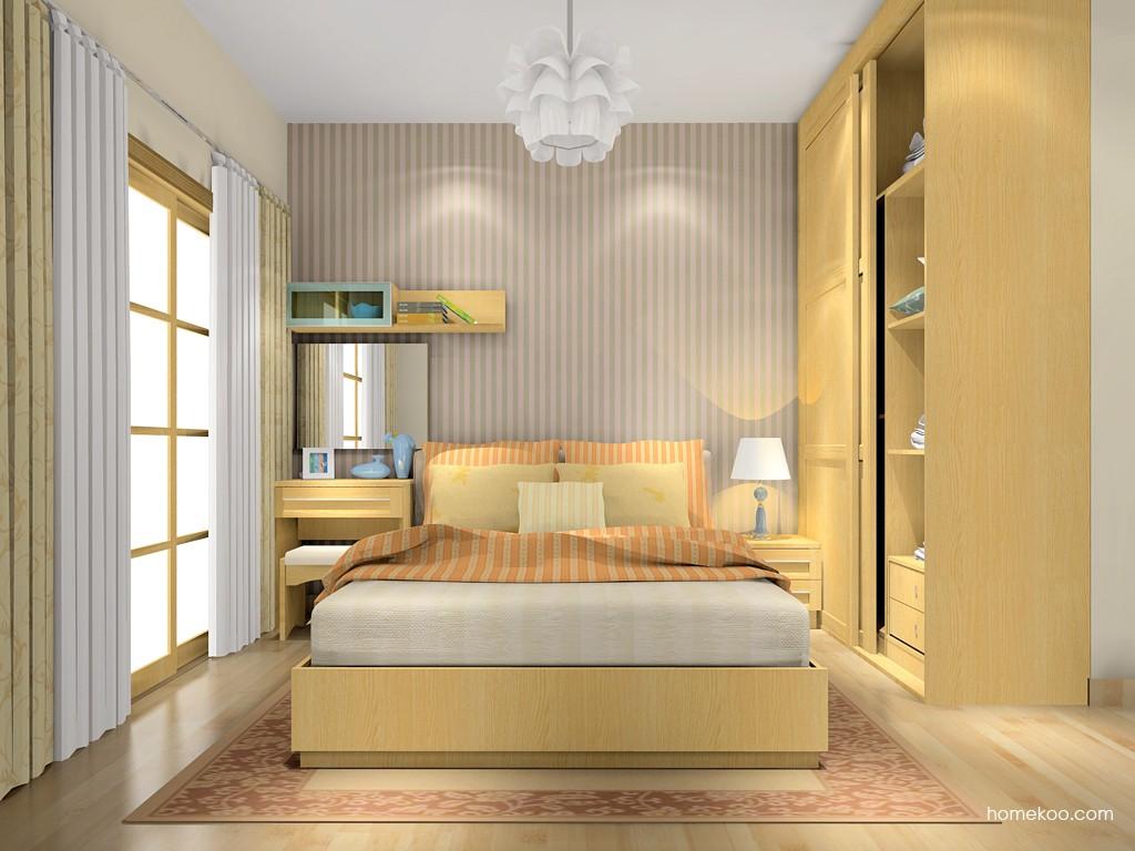 丹麦本色卧房家具A16026