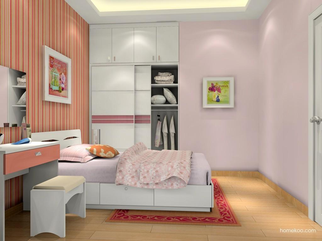 浪漫主义卧房家具A16028