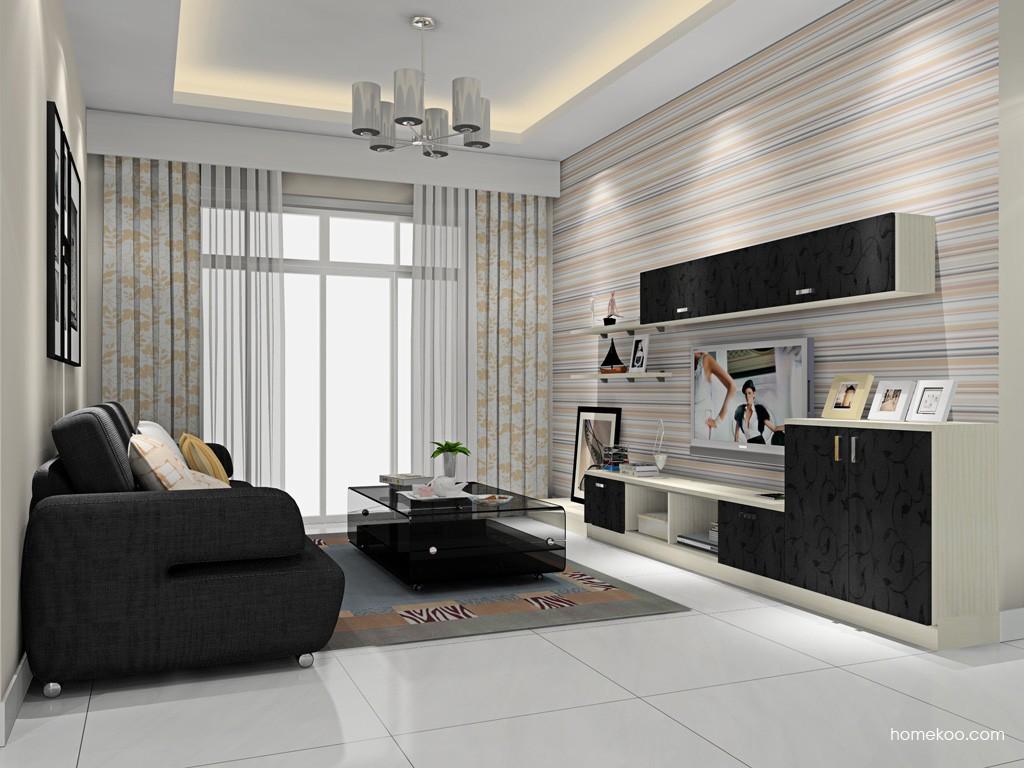 米兰剪影客厅家具D15702