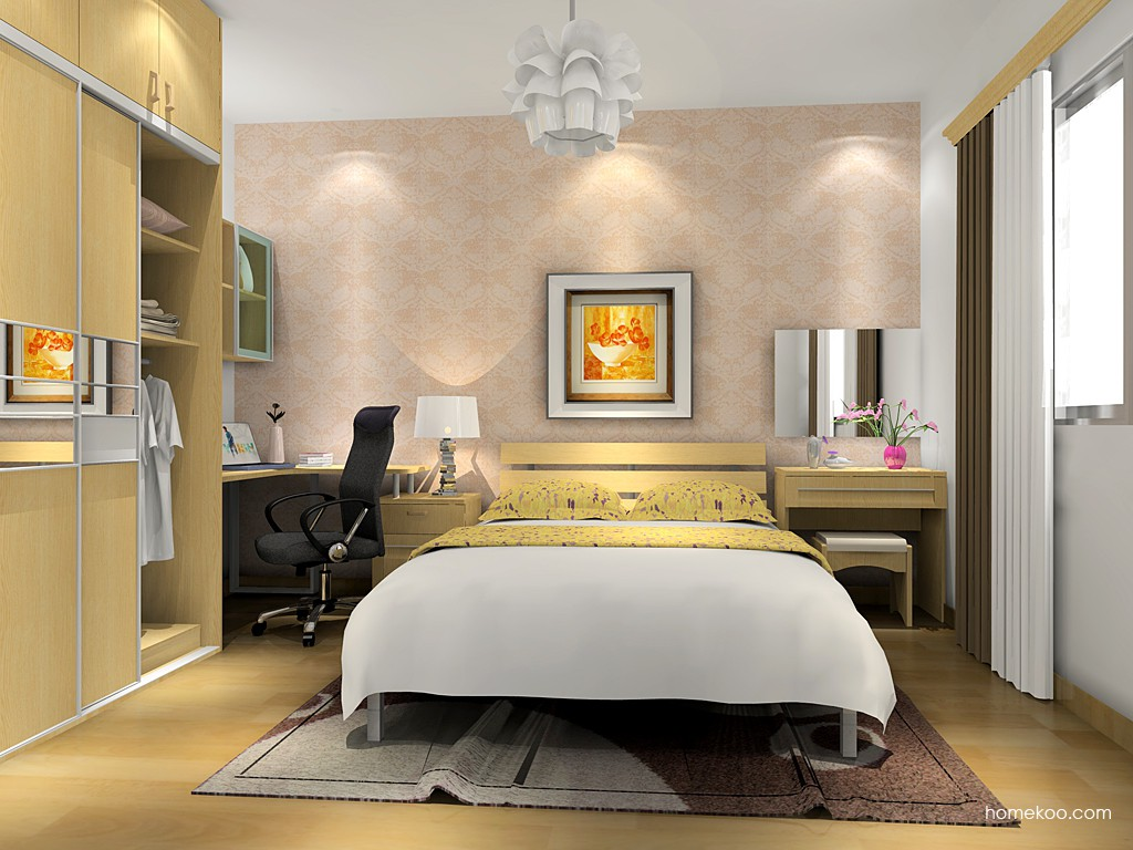 丹麦本色卧房家具A16041