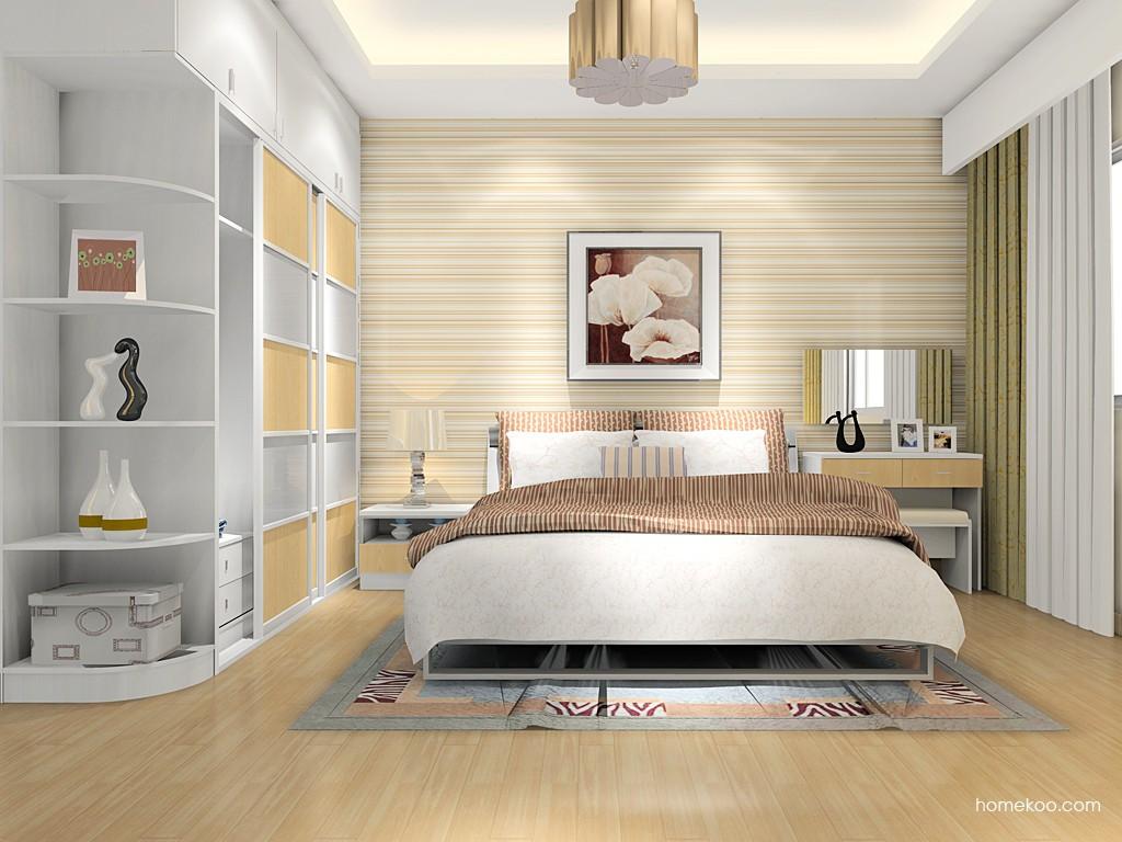 新实用主义卧房家具A16046