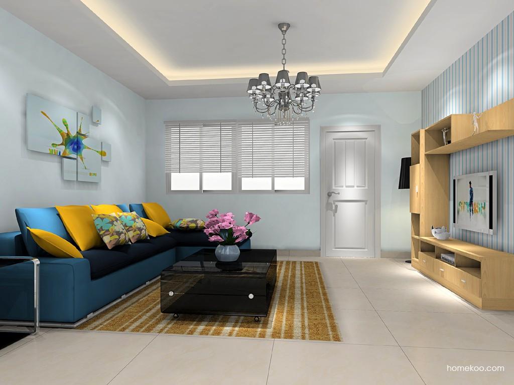 新实用主义客厅家具D15707