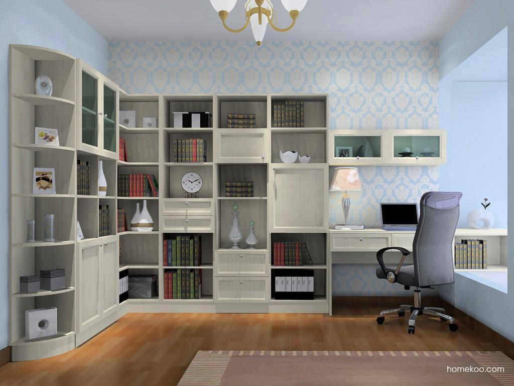 英伦印象书房家具C15459