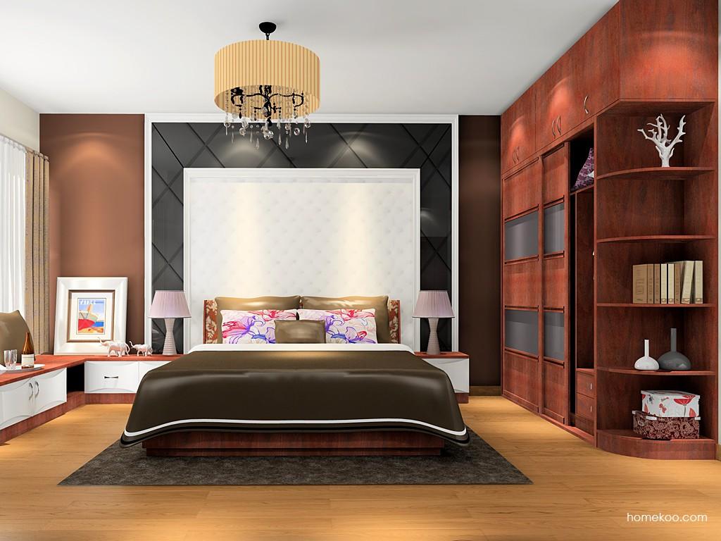 挪威月色卧房家具A16049