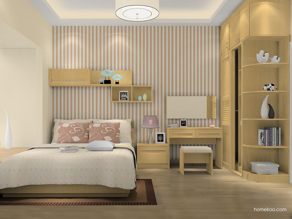 丹麦本色卧房家具A16062