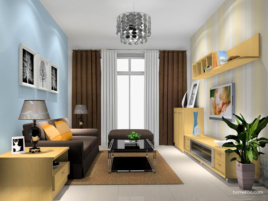 丹麦本色客厅家具D15723