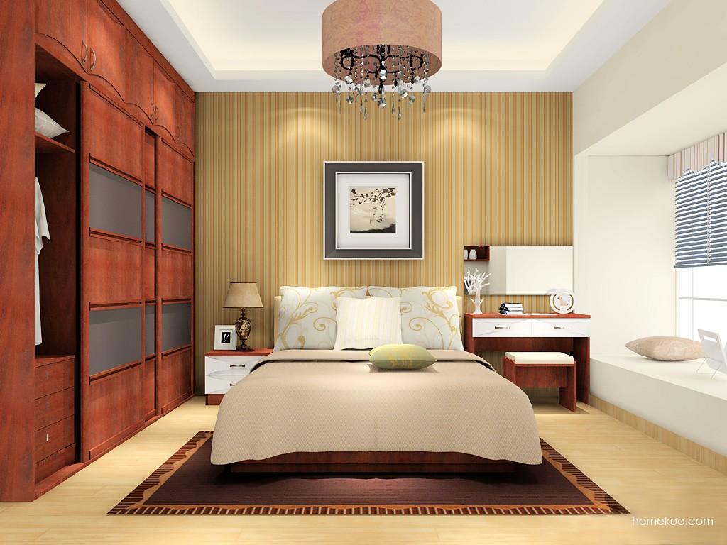 挪威月色卧房家具A16050