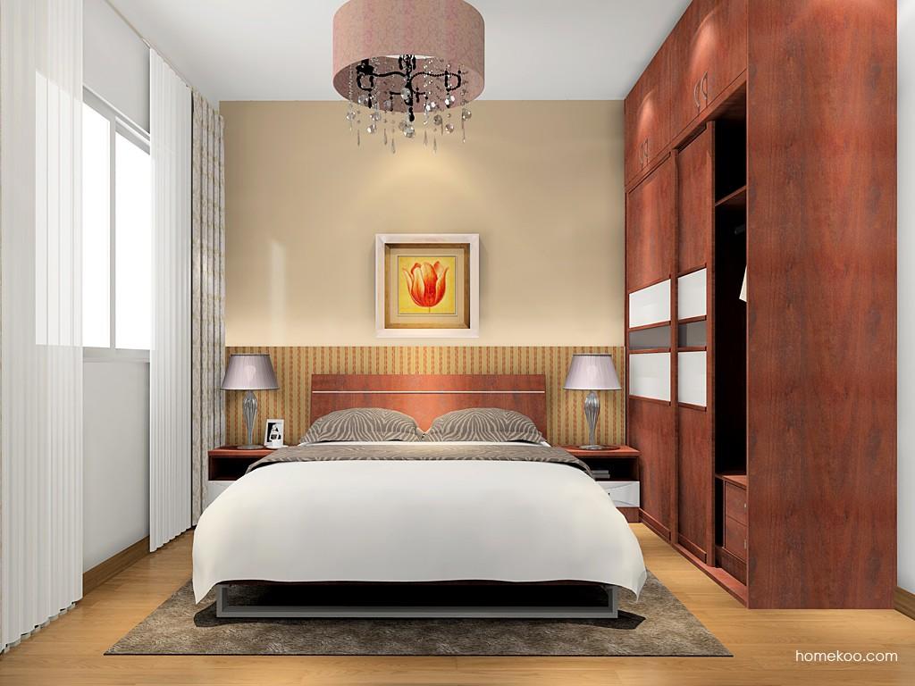 挪威月色卧房家具A16054
