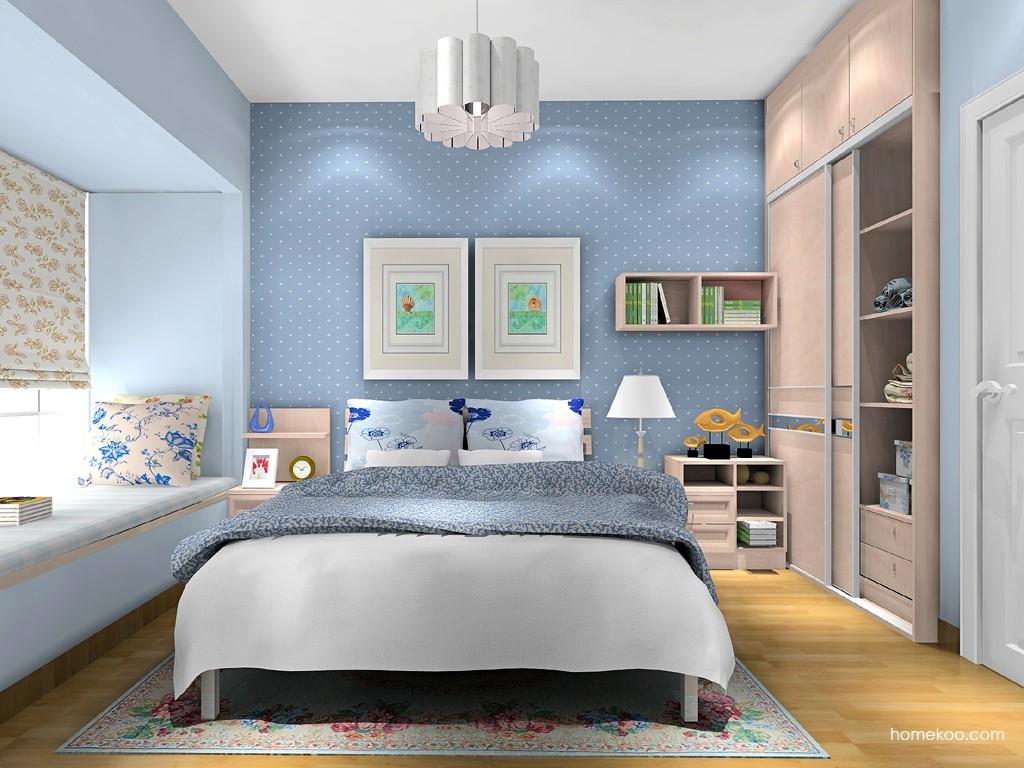 北欧阳光卧房家具A16057