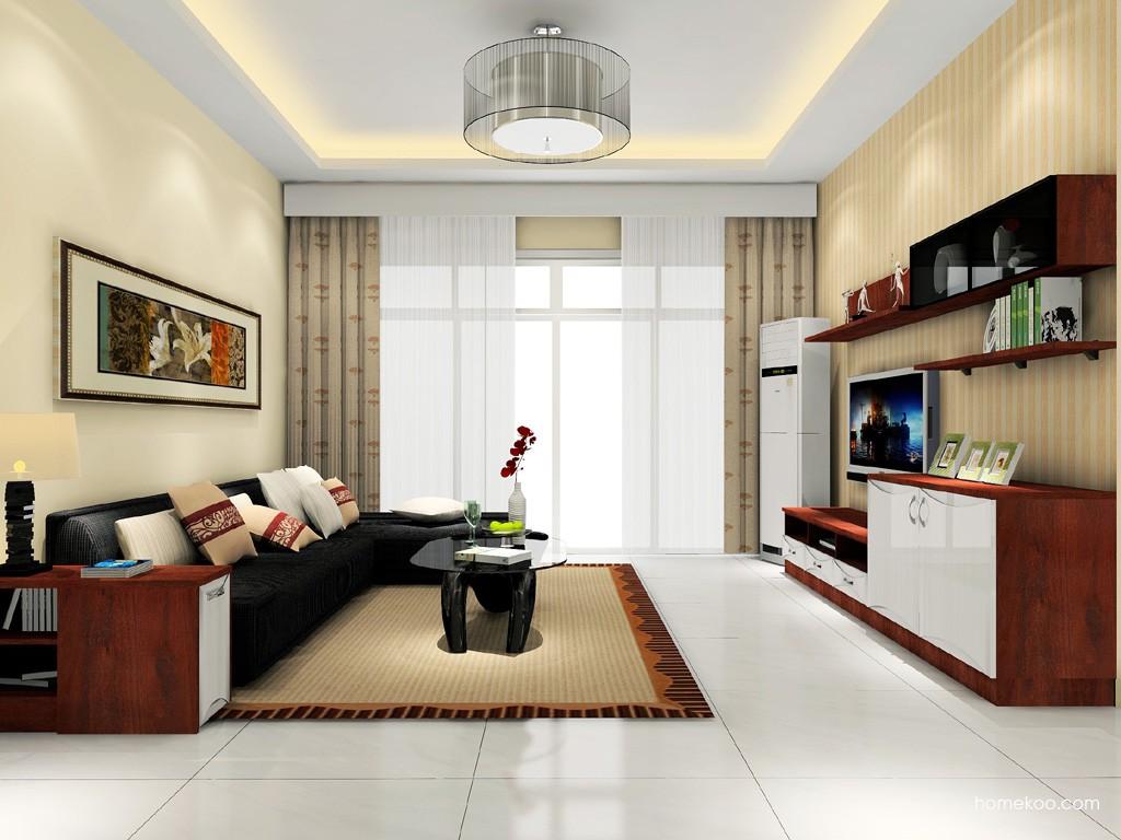 挪威月色客厅家具D15717