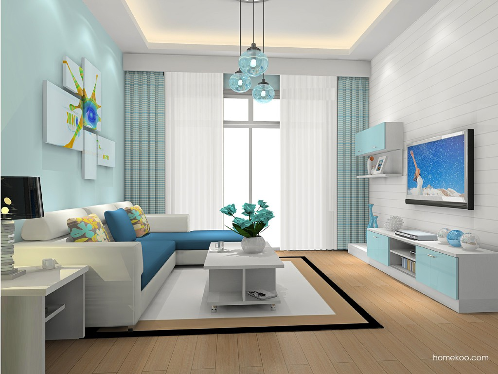 新实用主义客厅家具D15721