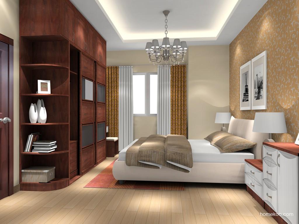 挪威月色卧房家具A16077
