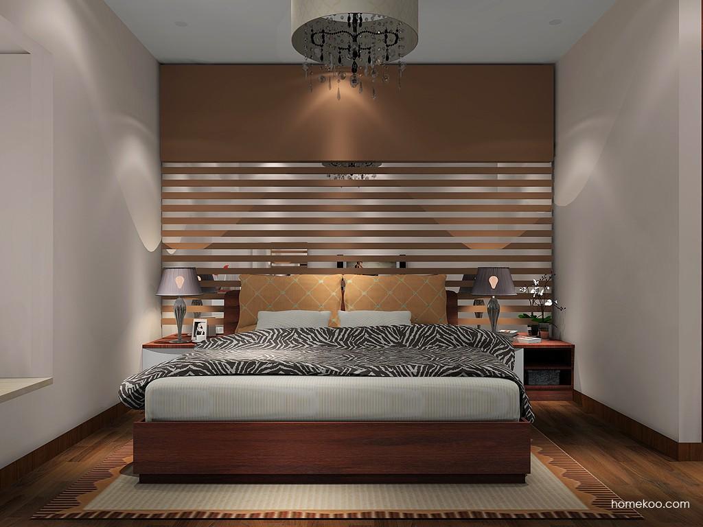 挪威月色卧房家具A16094