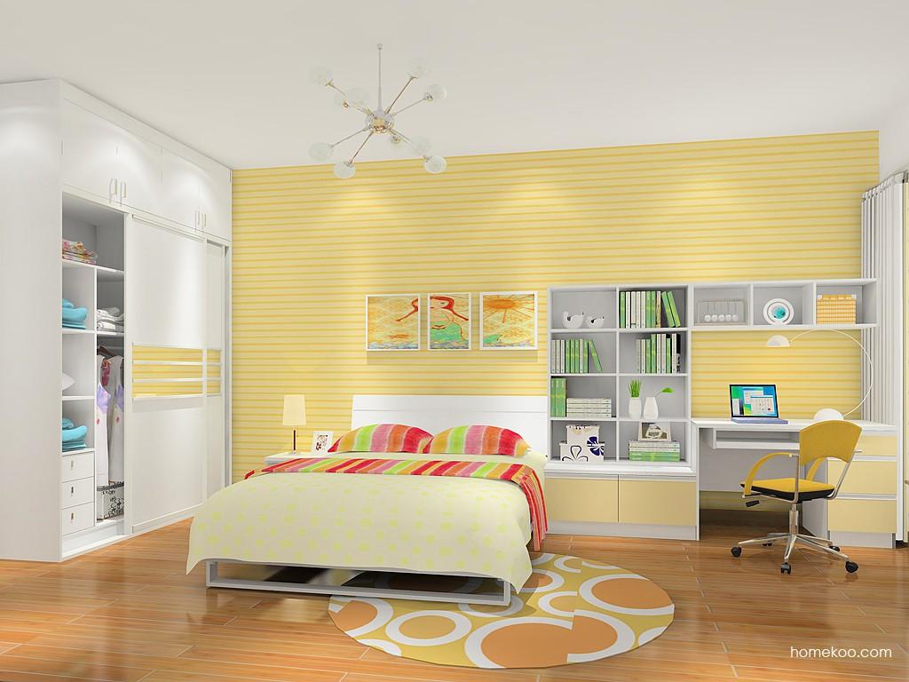 女孩的梦卧房家具B16096