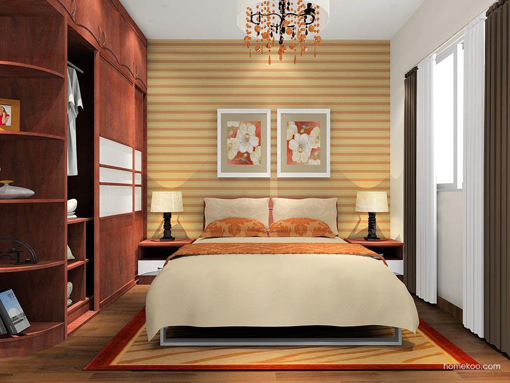 挪威月色卧房家具A16114