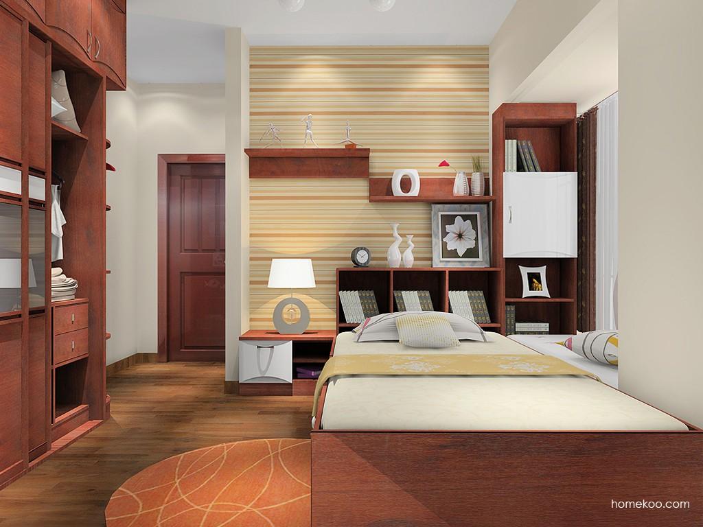 挪威月色卧房家具A16116