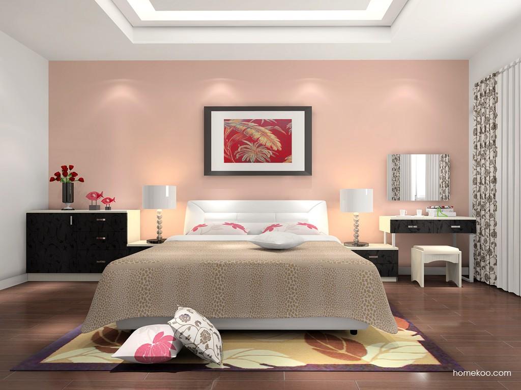 米兰剪影卧房家具A16120