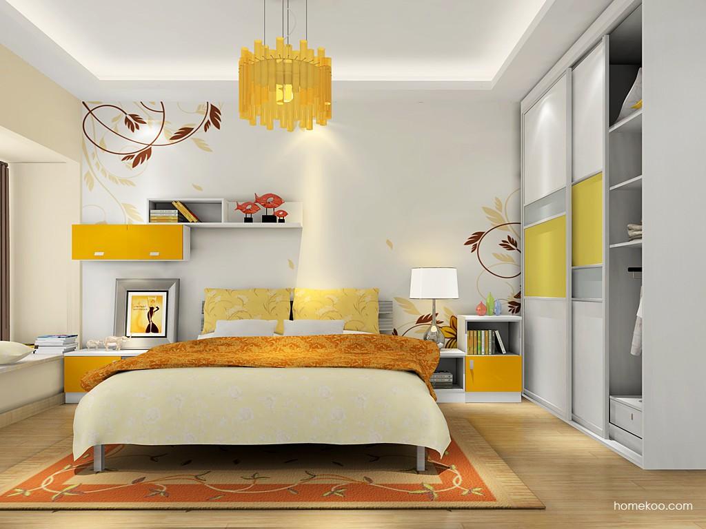 浪漫主义卧房家具A16133
