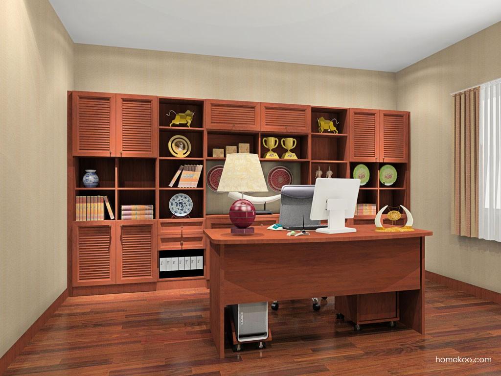 新中式主义书房家具C15498