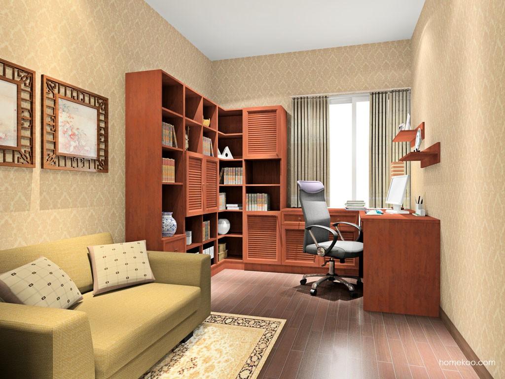 新中式主义书房家具C15499