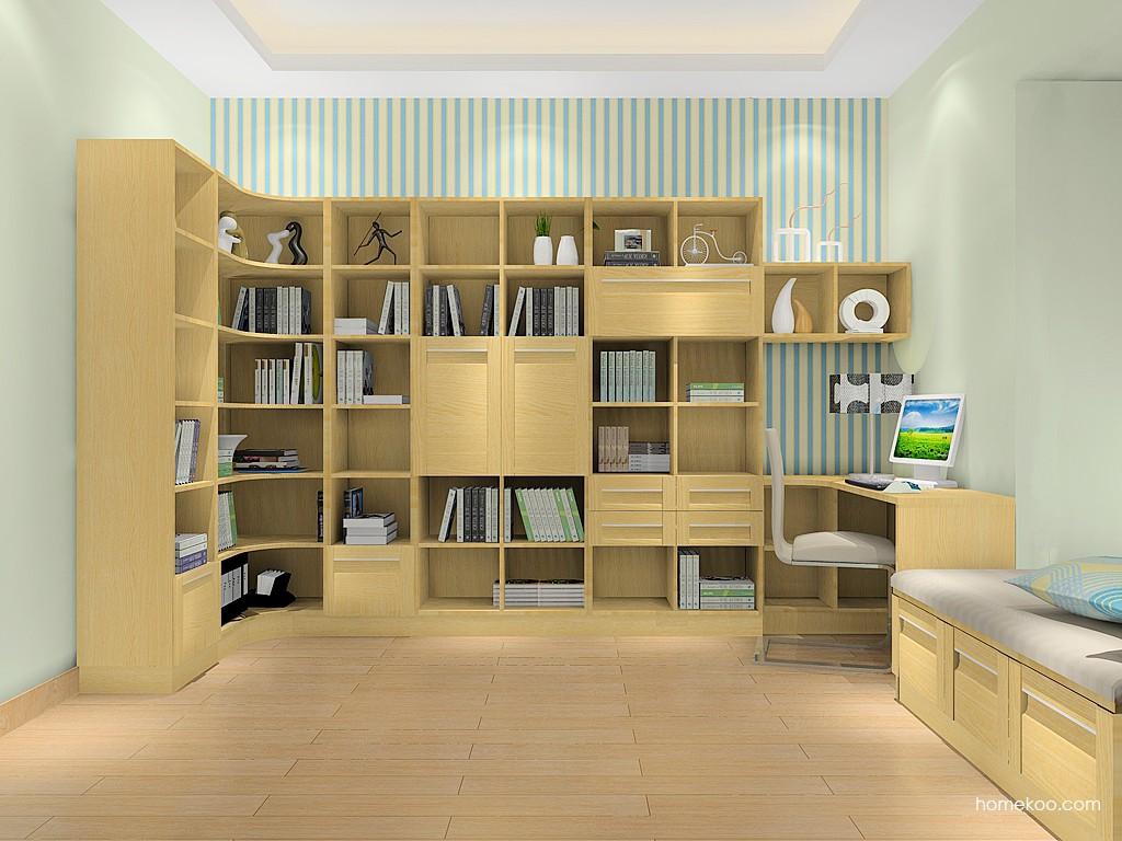丹麦本色书房家具C15505