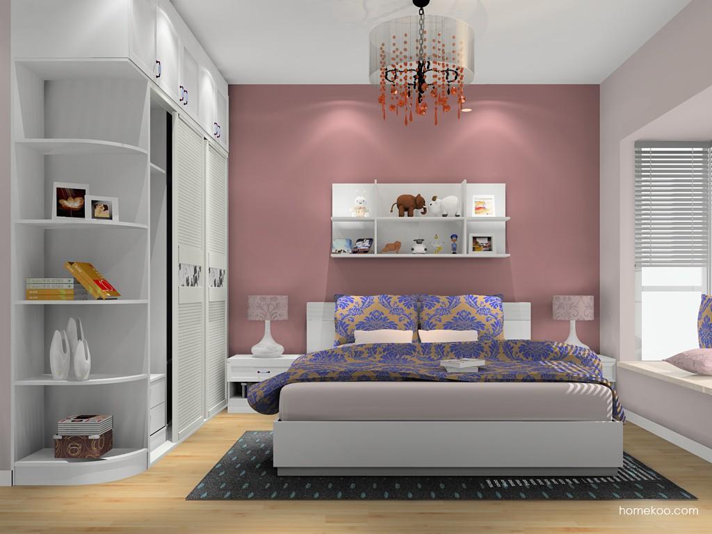 韩式田园卧房家具A16144