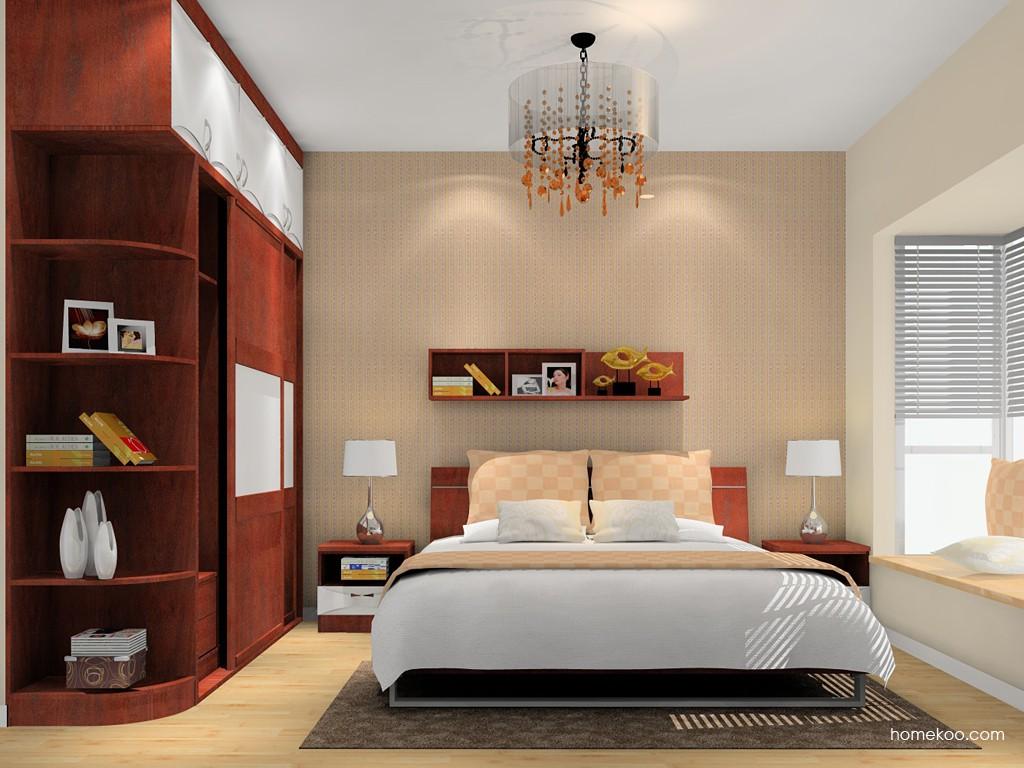 挪威月色卧房家具A16149