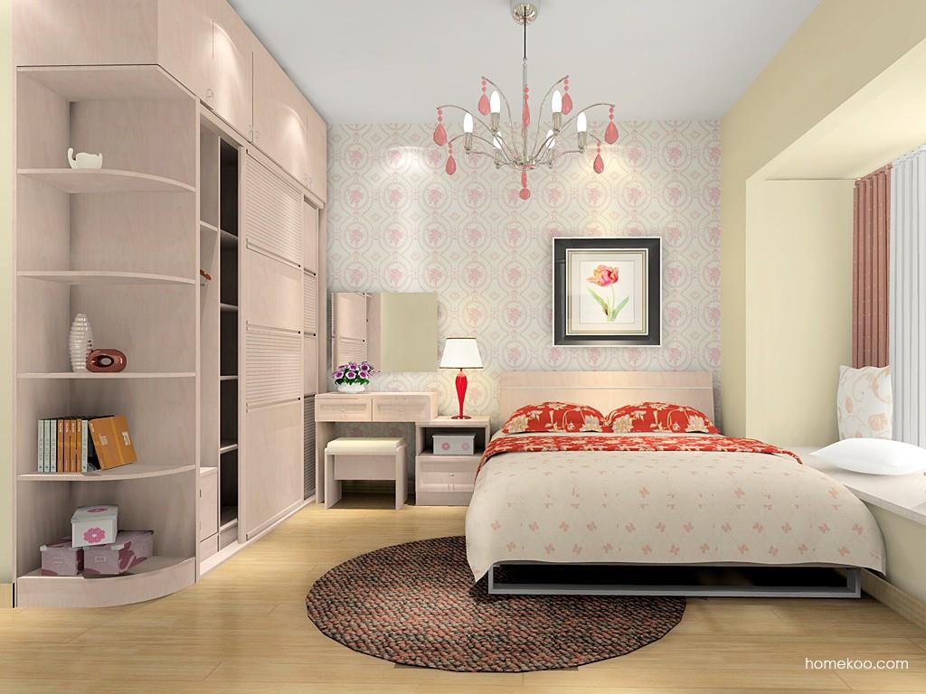 北欧阳光卧房家具A16152