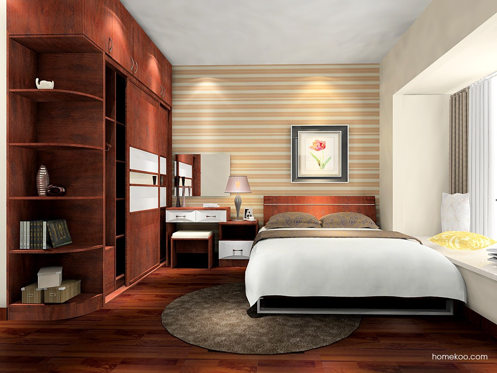 挪威月色卧房家具A16153