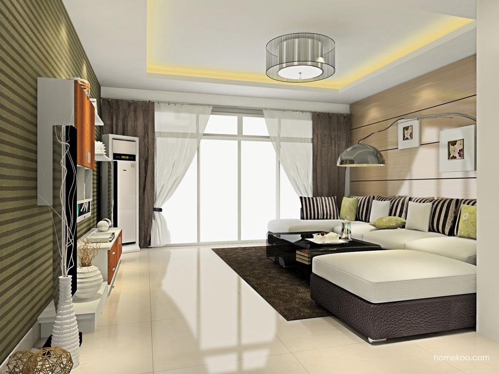 新实用主义客厅家具D15734