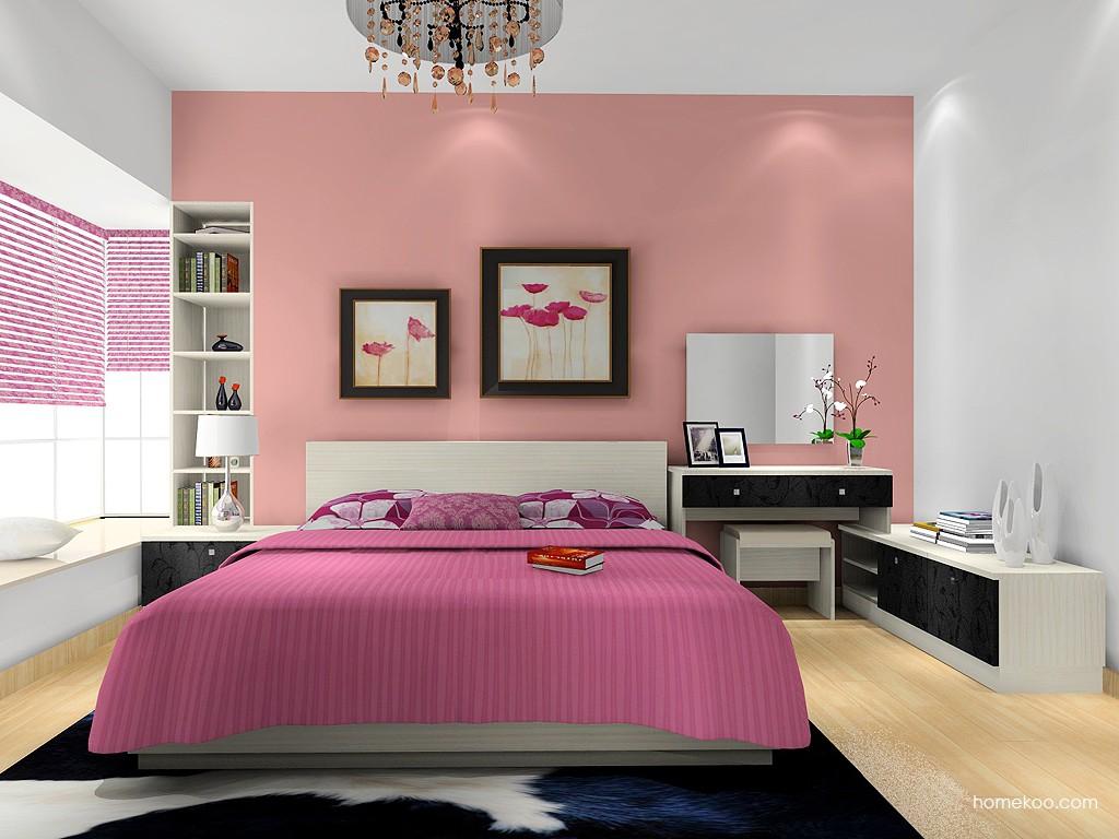米兰剪影卧房家具A16158