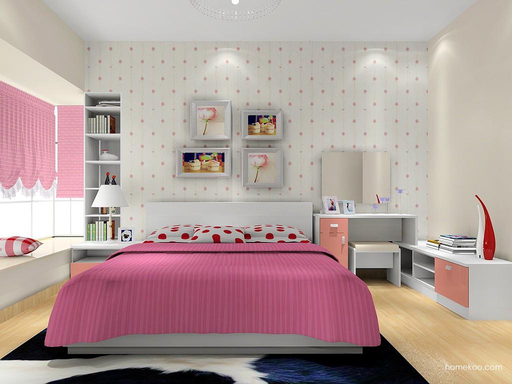 浪漫主义卧房家具A16159