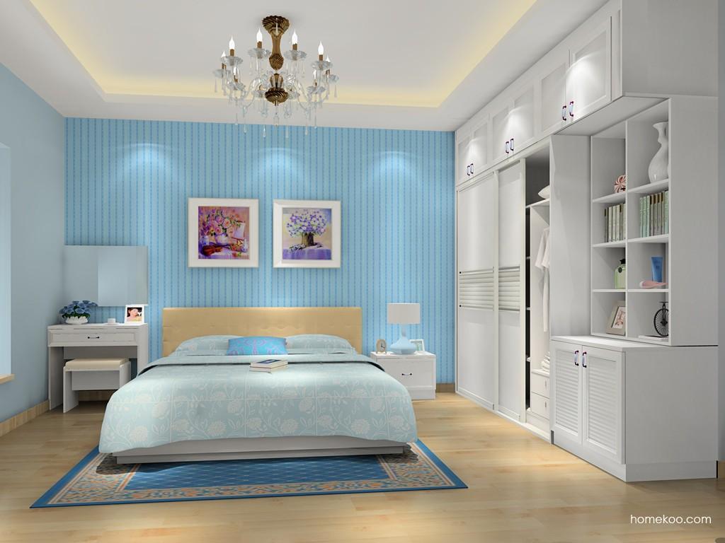 韩式田园卧房家具A16169