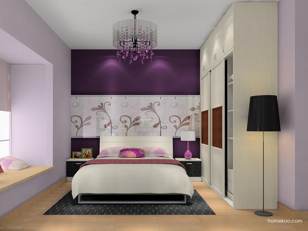 米兰剪影卧房家具A16170
