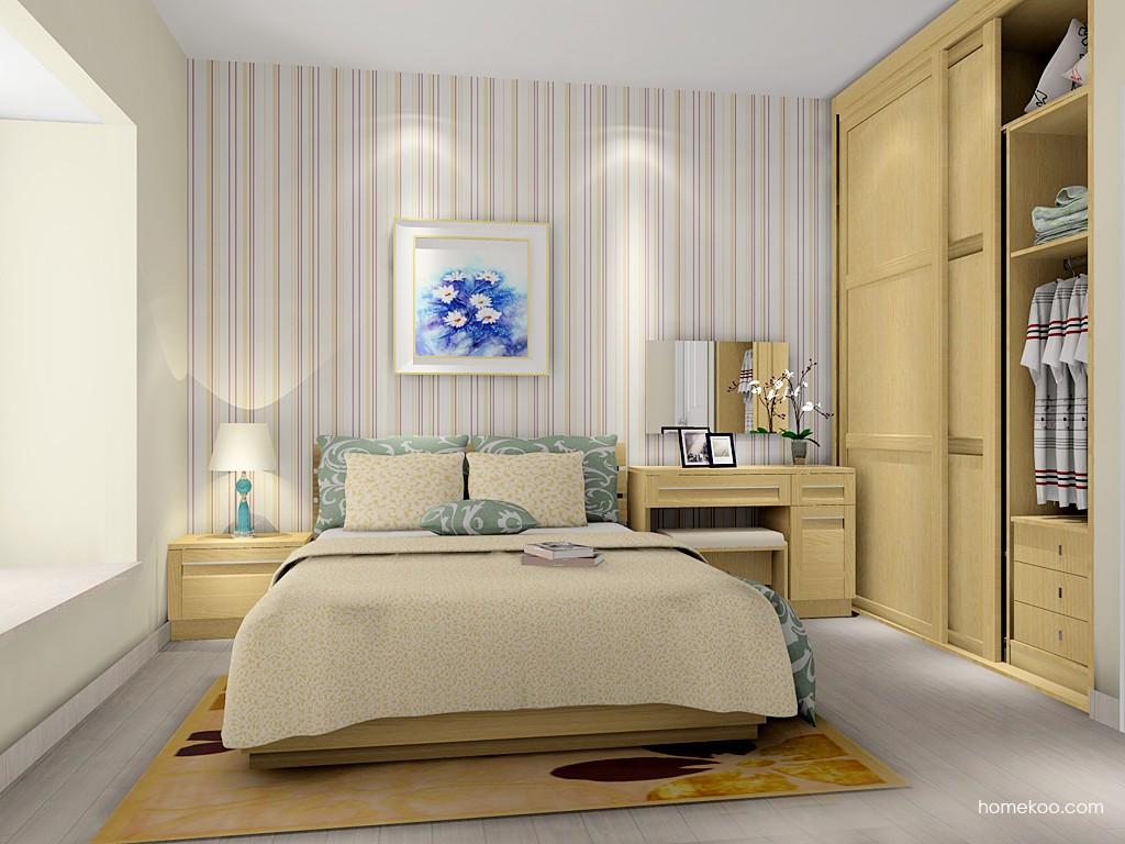丹麦本色卧房家具A16171