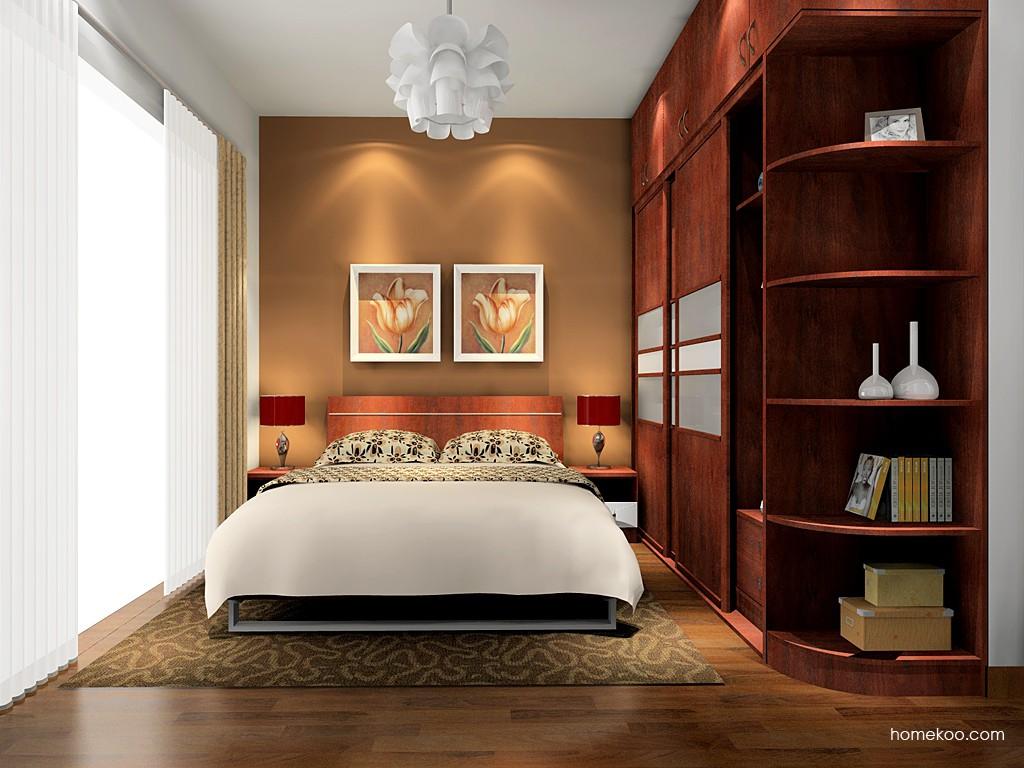 挪威月色卧房家具A16173
