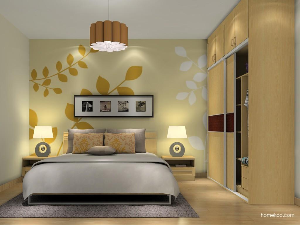 丹麦本色卧房家具A16182